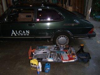 tools for Saab 900